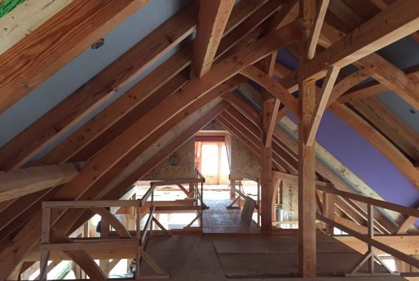 Timber Frame Build