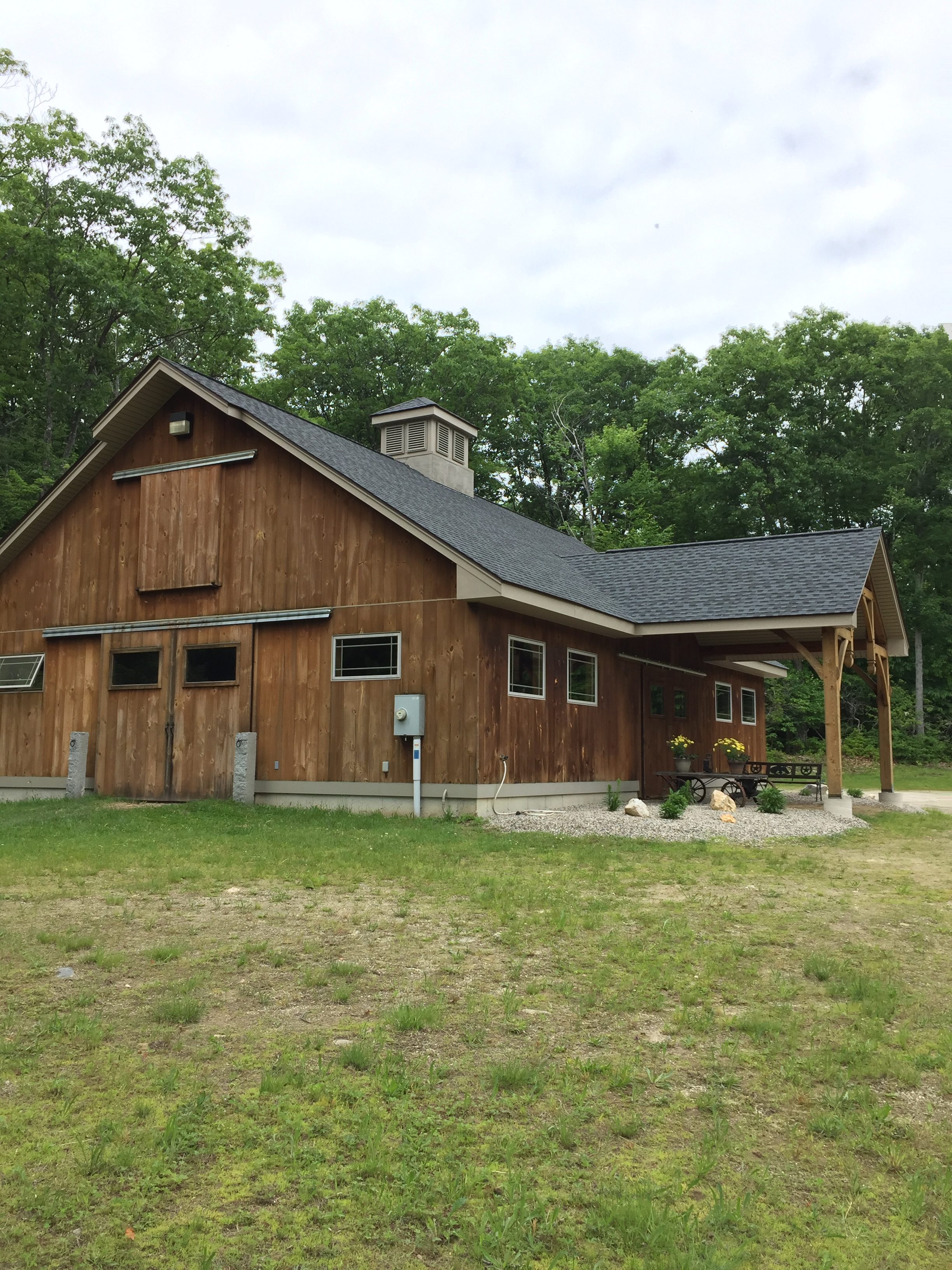 Large Timber Frame Barn