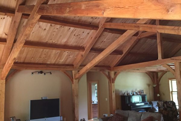 Timber frame Living Room