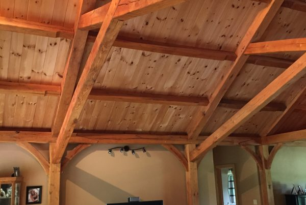 Timber Frame Ceiling Detail
