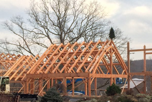 Timber Frame Custom Home build