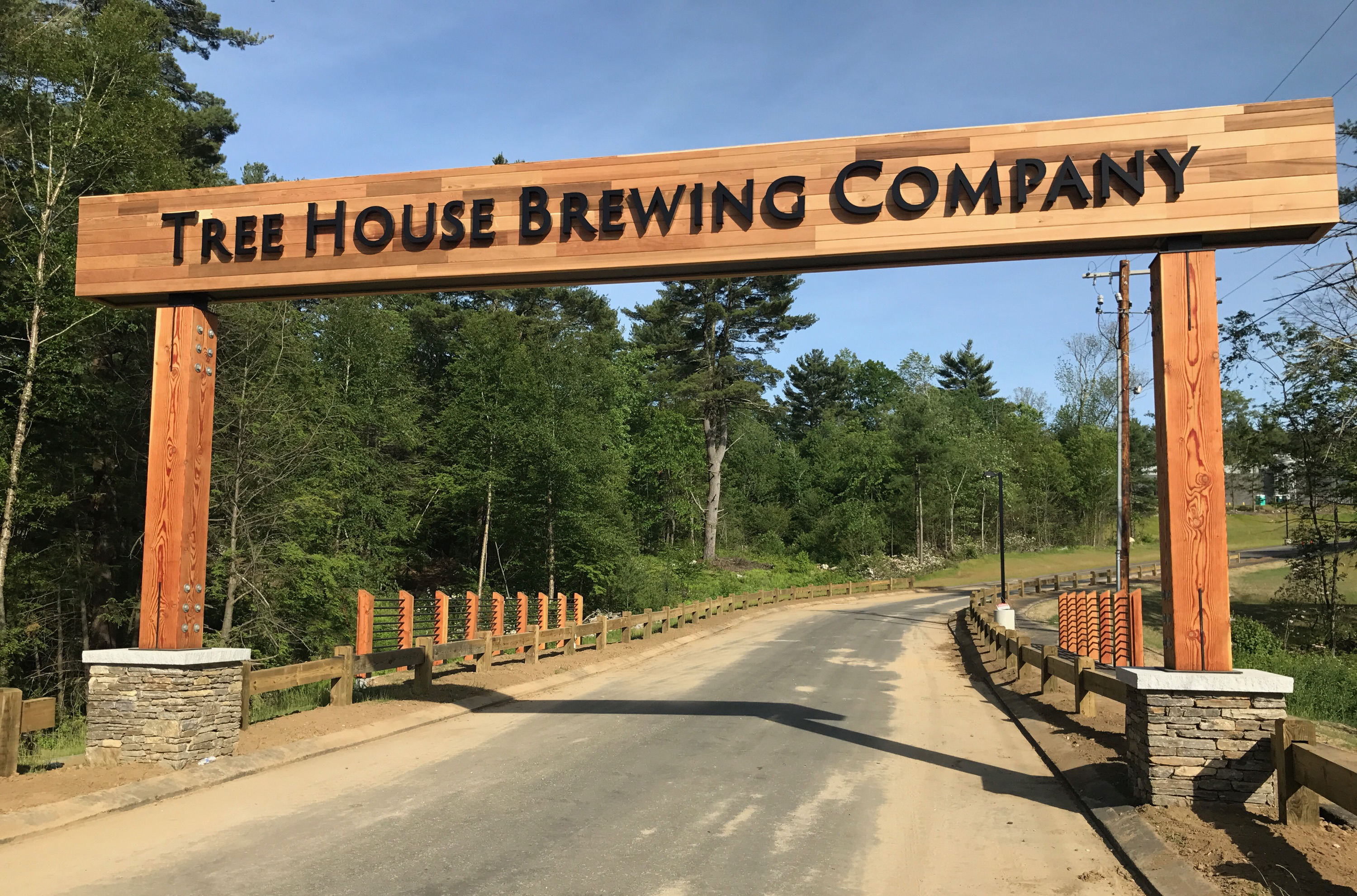 Tree House Brewing Company Sign