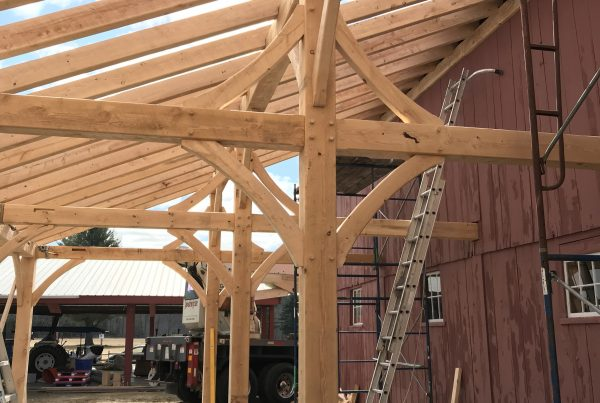 Timber frame process