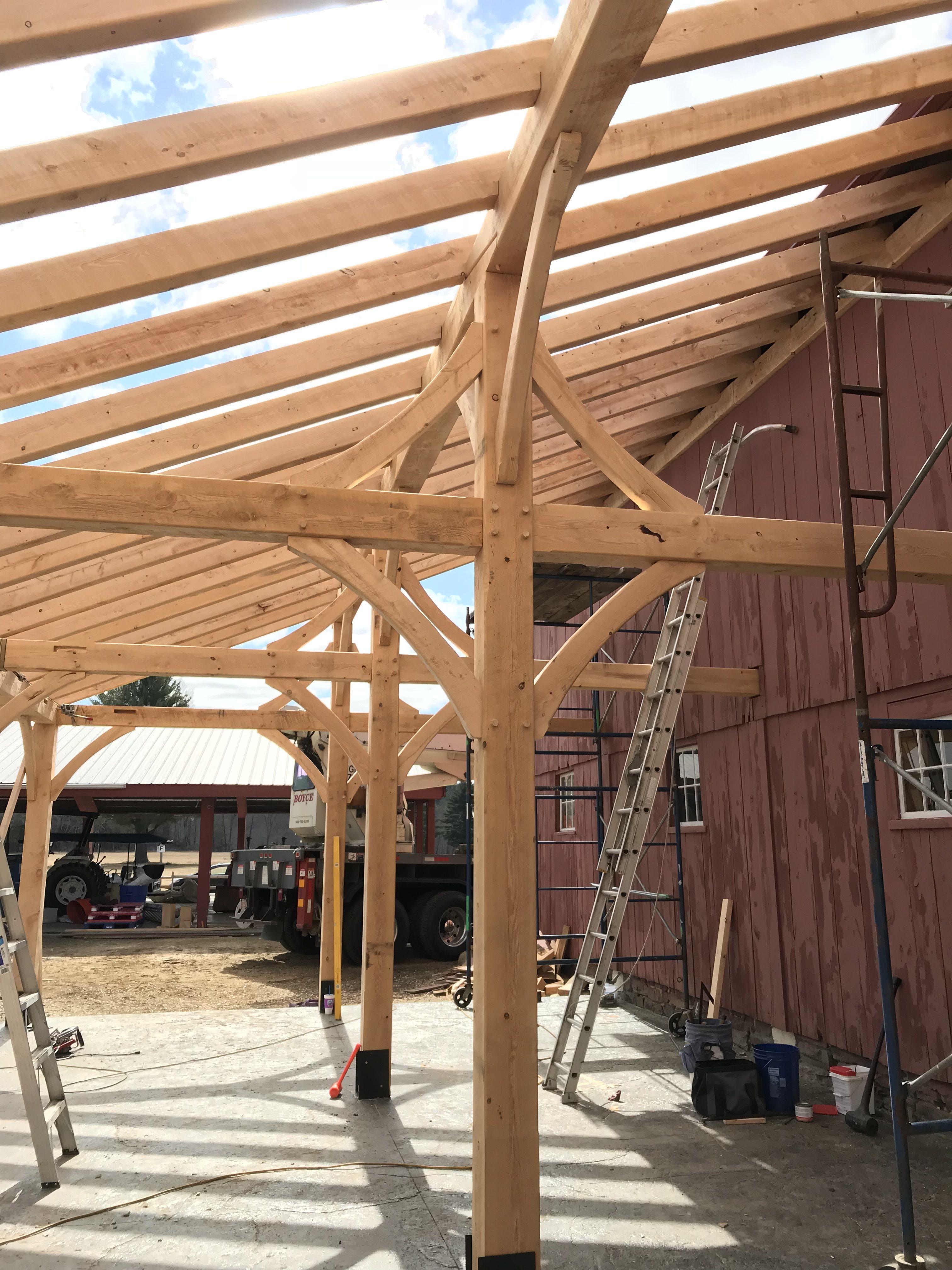 Timber frame process